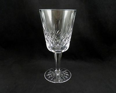 """Waterford Crystal Water Goblet Glass 6  7/8""""  Lismore early mark IRELAND  QTY"""
