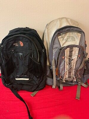 THE NORTH FACE Backpacking Hiking Day Pack Backpacks Bundled Lot Of 2.