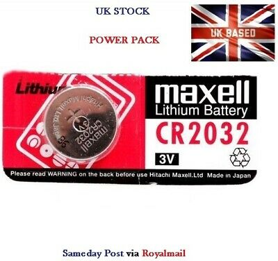 1 x CR2032 BR2032 DL2032 Branded 3V LITHIUM Button Coin Cell Battery