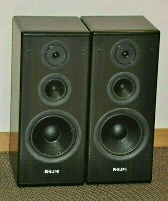 Rare Philips FB 815 Stereo Speakers
