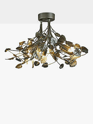 00fabd3d65b4 JOHN LEWIS ORA Semi Flush Led Ceiling Light Chrome - £100.00 ...