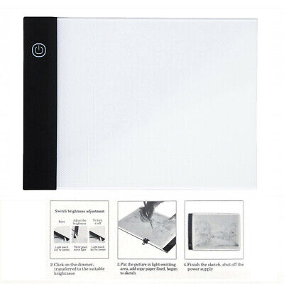 LED A5Painting Tracing Board Copy Pad Panel Drawing Tablet Arts Artcraft Stencil
