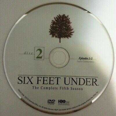 Six Feet Under HBO Fifth Season 5 Five - Disc 2 DVD Only - New - Free Shipping