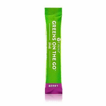 It Works! Greens on the Go Blend Berry-  7 Single Serve Packets