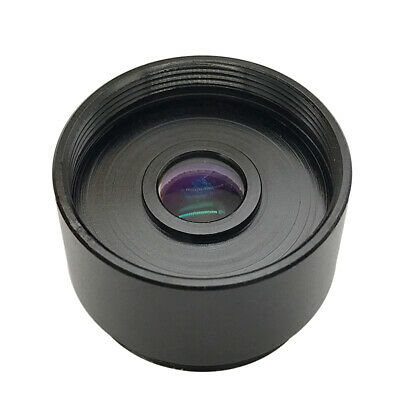 2X Relay Lens C to C-mount Adapter Lens Teleconverter for Industrial Microscope