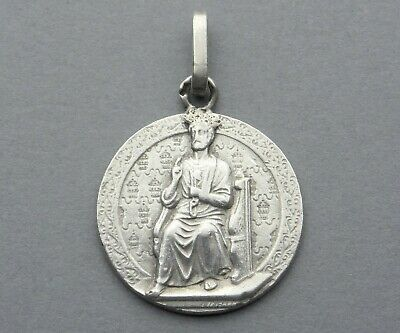 9e2c70401f6 French Antique Religious Sterling Medal. Saint Peter, Keys of Heaven, By  Tricard