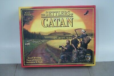 Settlers of Catan - Klaus Teuber 3061 Settlement & Trade Game 100% complete