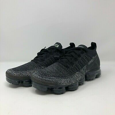 Men's Nike Air VaporMax Flyknit 2 Black Dark Grey (942842-012)