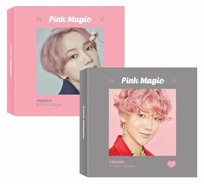 SM Entertainment [KIHNO Album] YESUNG - Pink Magic [Random ver.] (3rd Mini Album