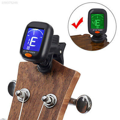 424B Mini Clip On Tuner & Metronome for Chromatic Guitar Bass Violin and Ukulele