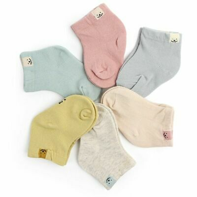 Baby Sock Unisex 1Pair Spring Autumn Cotton Fashion Cute Candy Color Casual Wear