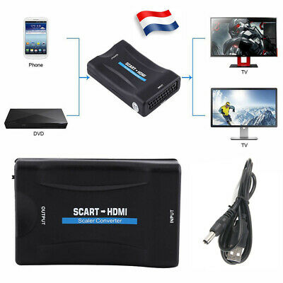 Péritel vers HDMI 720p 1080p 60 Hz HD video converter/box + USB Câble