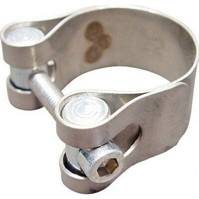 Schelle Edelstahl exhaust clamp 40-43mm  Vespa PX Lusso Lusso E-Start V8X1T