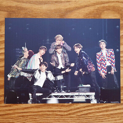 Official Postcard BTS Love Yourself World Tour Europe Blu-ray Genuine