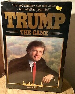 Amazing President Donald Trump Game 1989 Board Game Milton Bradley New Sealed