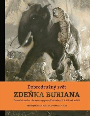BIG BOOK Z.BURIAN Adventurous World of ZDENEK BURIAN - WATCH VIDEO ! GB1