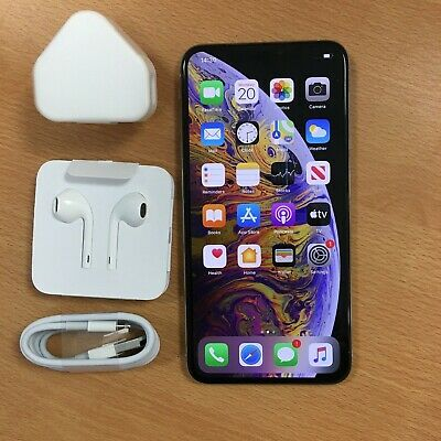 Apple iPhone XS Max - 256GB - Silver (Unlocked) A2101 (GSM)