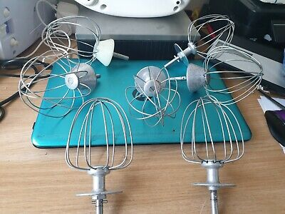 Vintage Resale Joblot Kenwood Chef Parts 7 X Balloon Whisk Attachments
