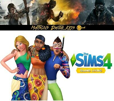The Sims 4 Island Living DLC Expansion PC & Mac CD Key - Origin Digital Download