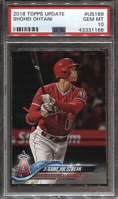 2018 Topps Update Base #US189 Shohei Ohtani CL
