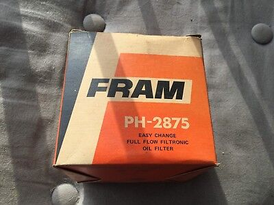 Filtre A Huile Neuf Fram  Auto Union Olie Filter