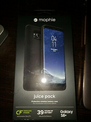 Mophie Juice Pack Wireless Charging Case for SAMSUNG GALAXY S8 + PLUS s8plus s8+