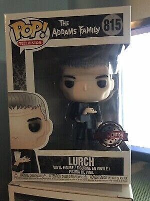 Funko Pop! The Addams Family Lurch (Popcultcha Exclusive) In Stock
