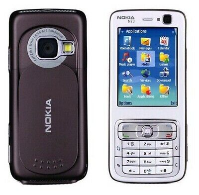 Nokia N73 Dummy Mobile Cell Phone Display Toy Fake Replica