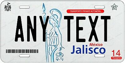 Jalisco Mexico 2011-16 Any Text Personalized Novelty Auto Car License Plate ATV