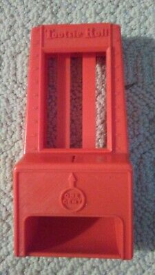 Vintage 1960'S Hasbro Plastic Tootsie Roll 1 Cent Toy Candy Vending Machine Bank