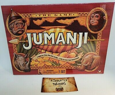 Jumanji The Game Kids Toys Puzzles Board Games Fun Family Collectible Fast Ship
