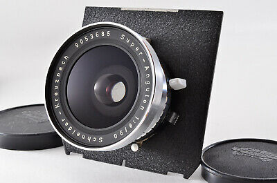 【Opt MINT】 Schneider Super Angulon 90mm F8 Wide angle Lens From JAPAN 707N