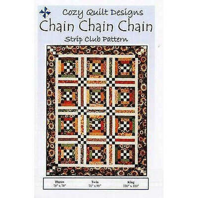 Chain Chain Chain Quilt Pattern By Cozy Quilt Designs Quilting Sewing