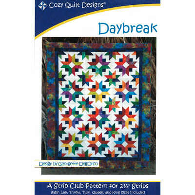 Daybreak Quilt Pattern By Cozy Quilt Design Quilting Sewing