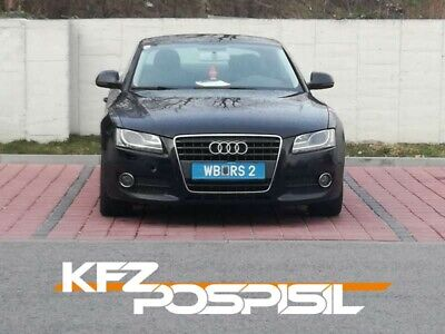 Audi A5 Coupe 2,7 Diesel, Pickerl abgelaufen, Frontscheibe kaputt... Export