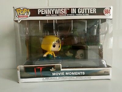 Funko Pop Pennywise in Gutter-Movie Moments-CAJA DAÑADA-VER FOTOS-BOX DAMAGED