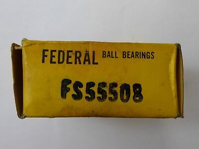 FEDERAL FS55508 DOUBLE ROW BALL BEARINGS Free delivery UK