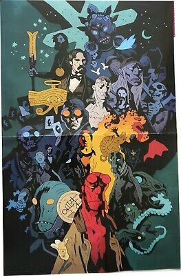 HELLBOY - Poster + pins + tatoos + marque-page