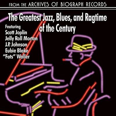 The Greatest Jazz, Blues And Ragtime of The Century NEW CD
