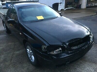 Ford Falcon 2005 Model Utility 4.0 L 5 Speed Damaged Statutory Write Off Salvage