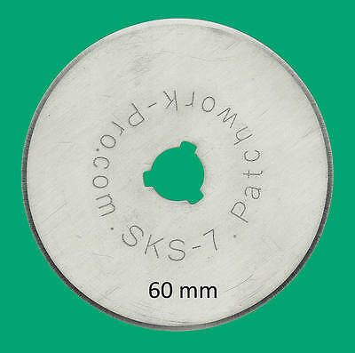 10x 60mm Rotary Cutter Replacement Blades Patchwork Quilt - Internat. Shipping