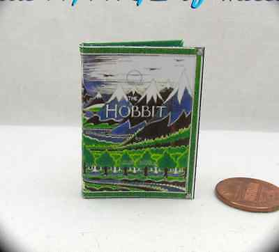 1:6 Scale THE HOBBIT ILLUSTRATED J.r.r. TOLKIEN Miniature Book Play scale