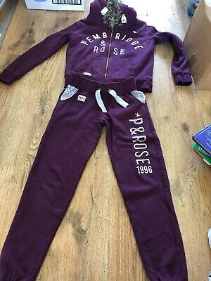 Girls New Look Track Suit  Bottoms Age 9 Top Age 12