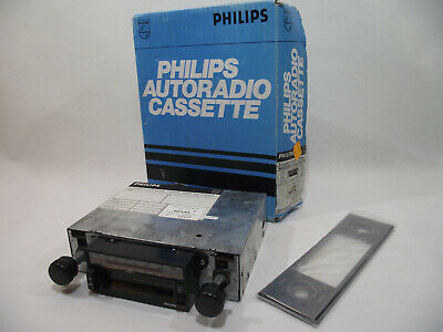 Ancien Autoradio cassette PHILIPS 90AC649/15 AC 649 NEUF emballage d'origine