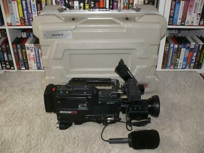 Sony BVW-D600P Betacam Broadcast Camera in original Carry Case ~ Fully Working
