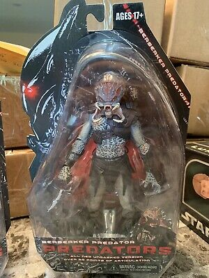 Authentic Neca Predators Unmasked Berserker Predator Series 2 Action Figure