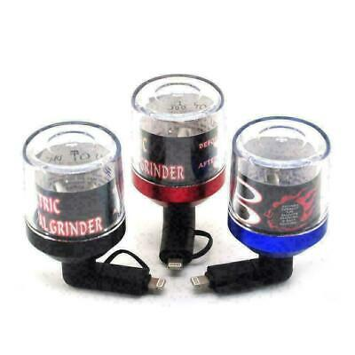 USB ELECTRIC GRINDER HERB METAL GRINDER FOR SMART PHONE & IPHONE By SOS
