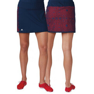 adidas Women's  Climacool Olympics Star Lace Skort Team USA Size Large New