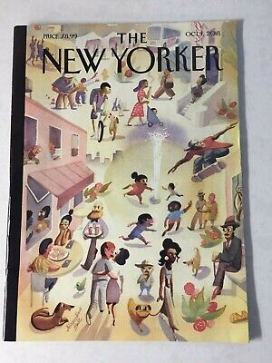 The New Yorker Magazine October 1, 2018 Issue