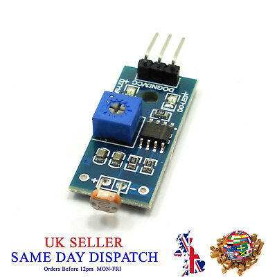 5V Photosensitive Module Light Dependent Resistor 3 Pin LDR Photoresistor
